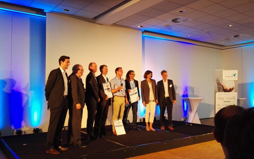 Die Sieger des Finale im nordbayerischen Business Plan Wettbewerb – Baystartup